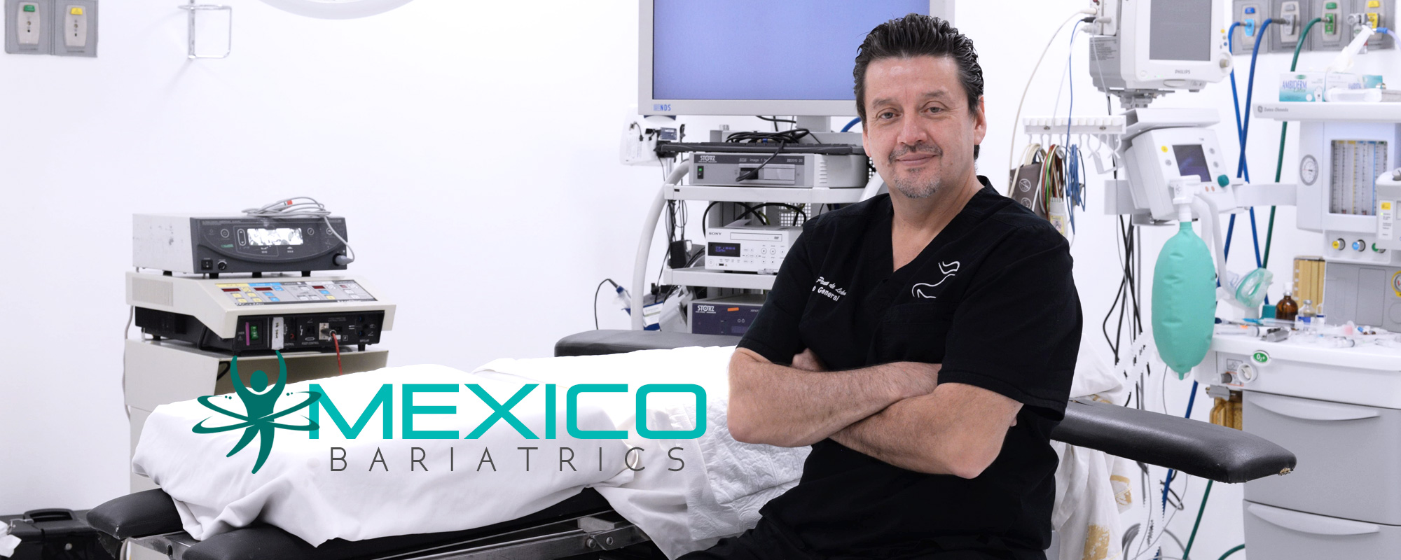 Dr. Jaime Ponce de Leon Palomares, board certified bariatric surgeon in Mexico.